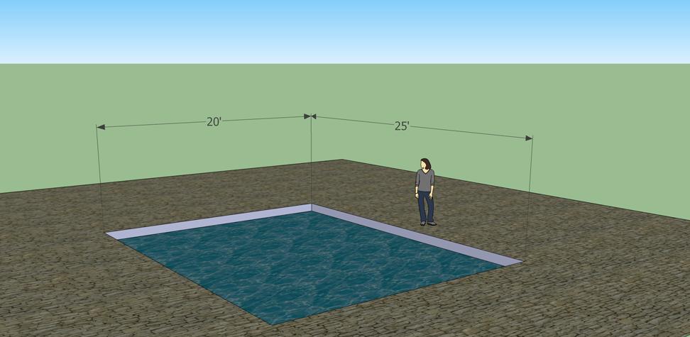 solar pool heater sizing